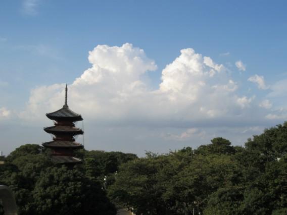 池上本門寺からの眺め