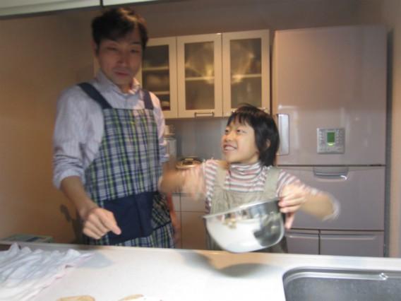 手作りクリスマスケーキ 作る編①