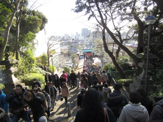 池上本門寺へ初詣2013