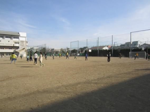 親子サッカー大会