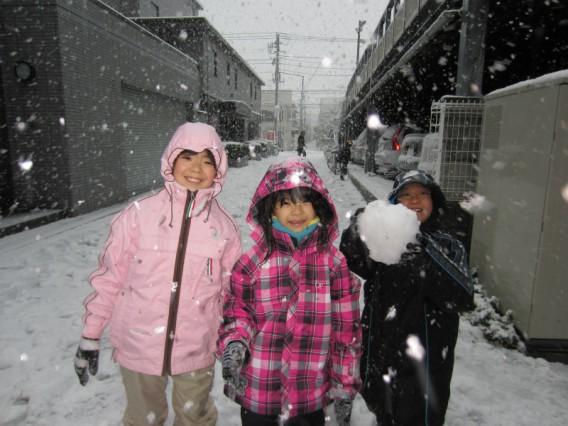 6,7年振りの大雪