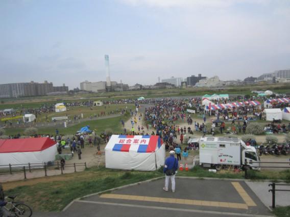 多摩川リバーサイド駅伝2013