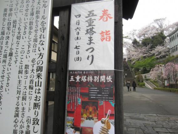 本門寺春まつり(五重塔・花まつり)