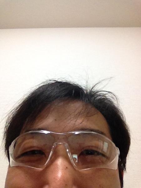 【花粉・ホコリ対策メガネ】