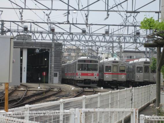 雪が谷大塚駅・車庫