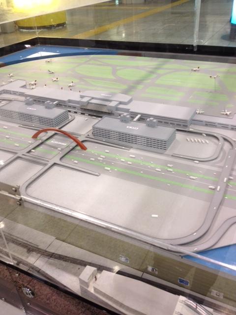 模型で見る・羽田空港
