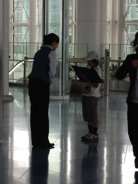 夏休みの自由研究に・羽田空港