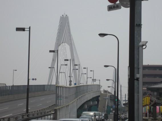 大田区から川崎へ・大師橋