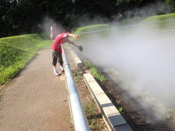霧の森・昭和記念公園