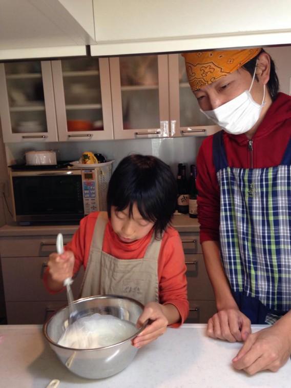 【「男の手作り」我が家の今年のクリスマスケーキ】 つくり方編