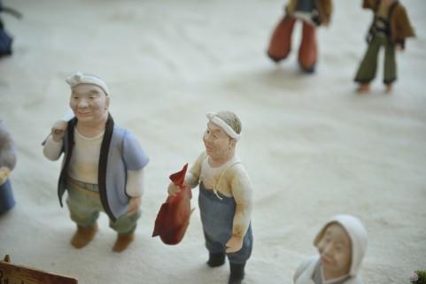伊藤若冲・作、『竹に雄鶏図』を確認