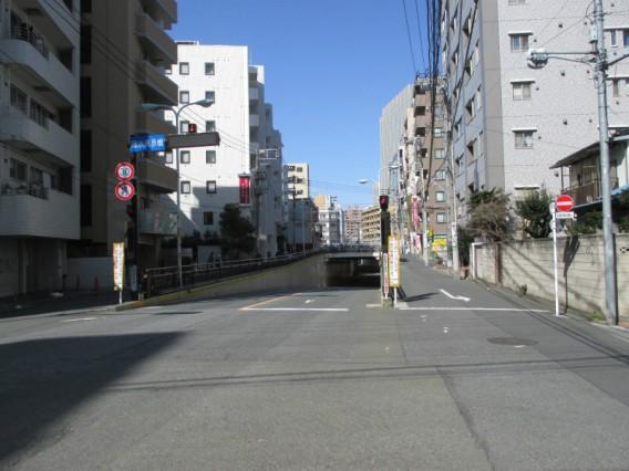 蒲田駅周辺でJR線を渡る方法その4・多摩堤通り