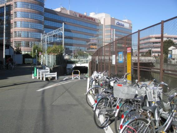 蒲田駅周辺でJR線を渡る方法その6・呑川トンネル