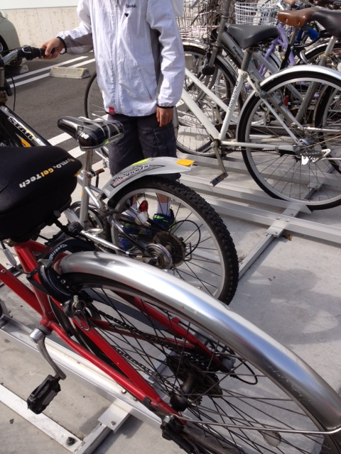 これは便利・平行移動式駐輪機