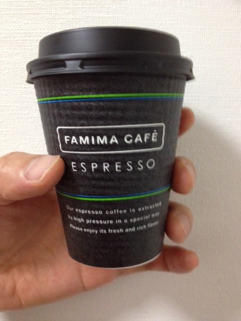 コンビニのコーヒー