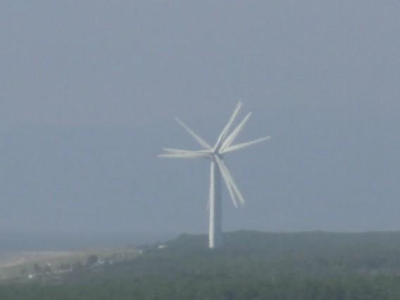 伊良湖で見た風力発電