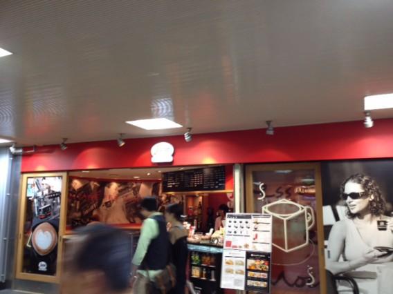 品川駅でコーヒーをテイクアウト/セガフレード・ザネッティ(Segafred Zanetti)